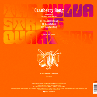 Cranberry Song