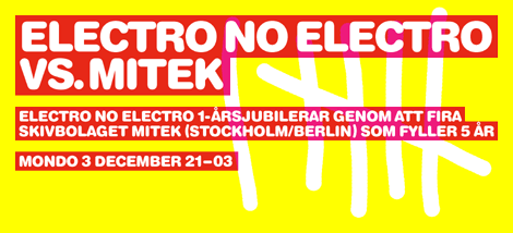 Electro No Electro vs. Mitek